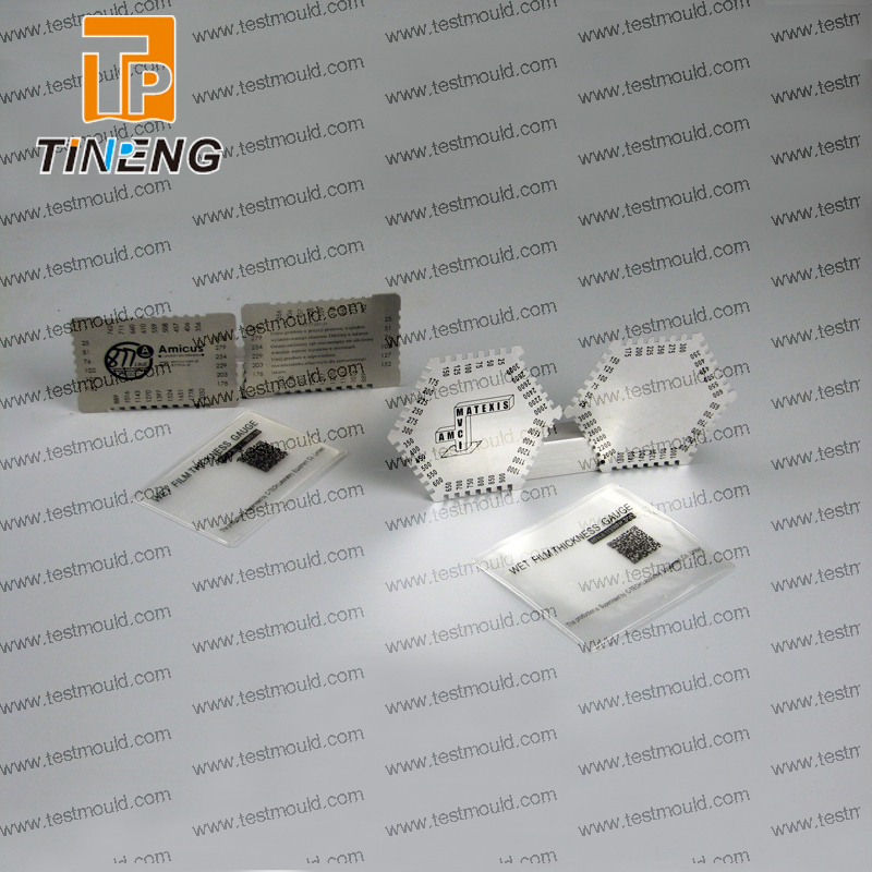Aluminum wet film <strong>thickness</strong> gauge