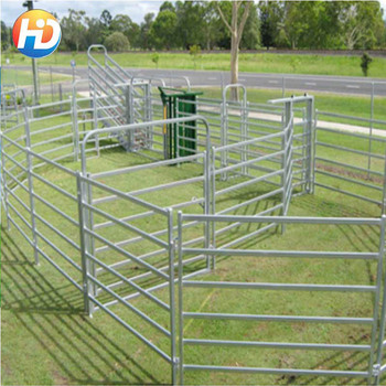 Round Pen Horse Paddock Temporary Fencing For Horses - Buy Temporary  Fencing For Dogs,Metal Animal Farm Fence Panel,Made In China Product on