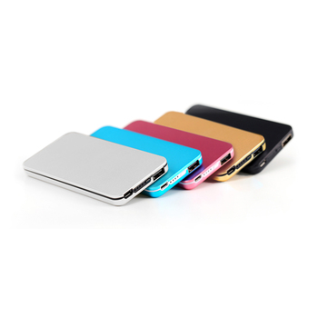 Wholesale slim power bank with flash memory,Best new 4000mah power bank,Custom cheat metal 5200mah power bank