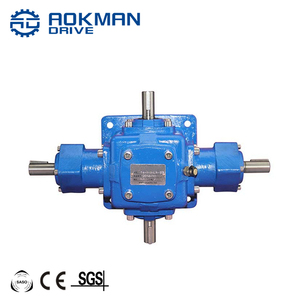 7.5kw 10kw T series electric motor 90 degree bevel gear drive reducer