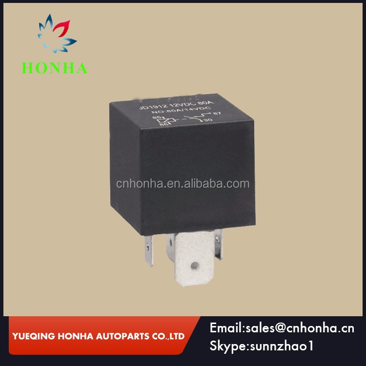 JD1914 12V//24V 80A//100A Automotive Relay 5Pin SPDT Car Control Device Relay