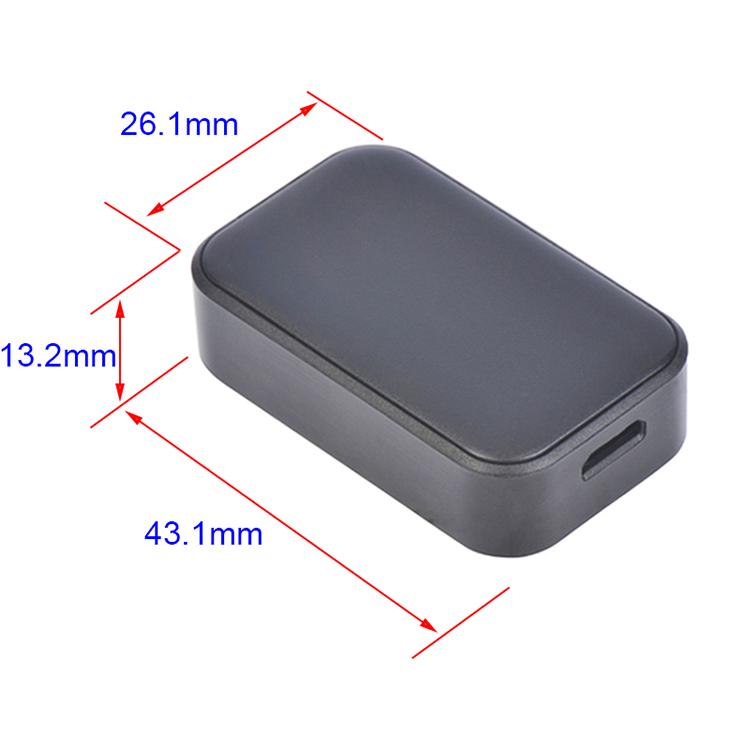 Nhỏ nhất thế giới Mini GPS nút hoảng loạn cho trẻ em/người già, hỗ trợ GSM thẻ sim cho SOS gọi điện thoại khẩn cấp