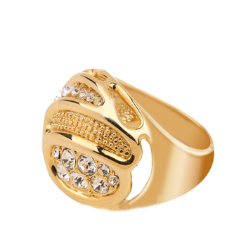 2017 Latest Fashion New Design La s Finger Gold Ring Design