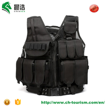 factory wholesale 600D ruggedized oxford outdoor men single size personal protection hunting tactical military vest