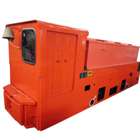 2.CAY12 Underground Mining Battery Powered Electric Locomotive