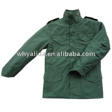 M65 military winter nylon cotton woodland with liner