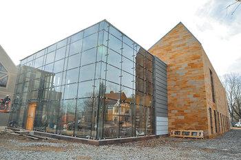Aluminum Curtain Wall Design : Framless glass curtain wall for building facade aluminium