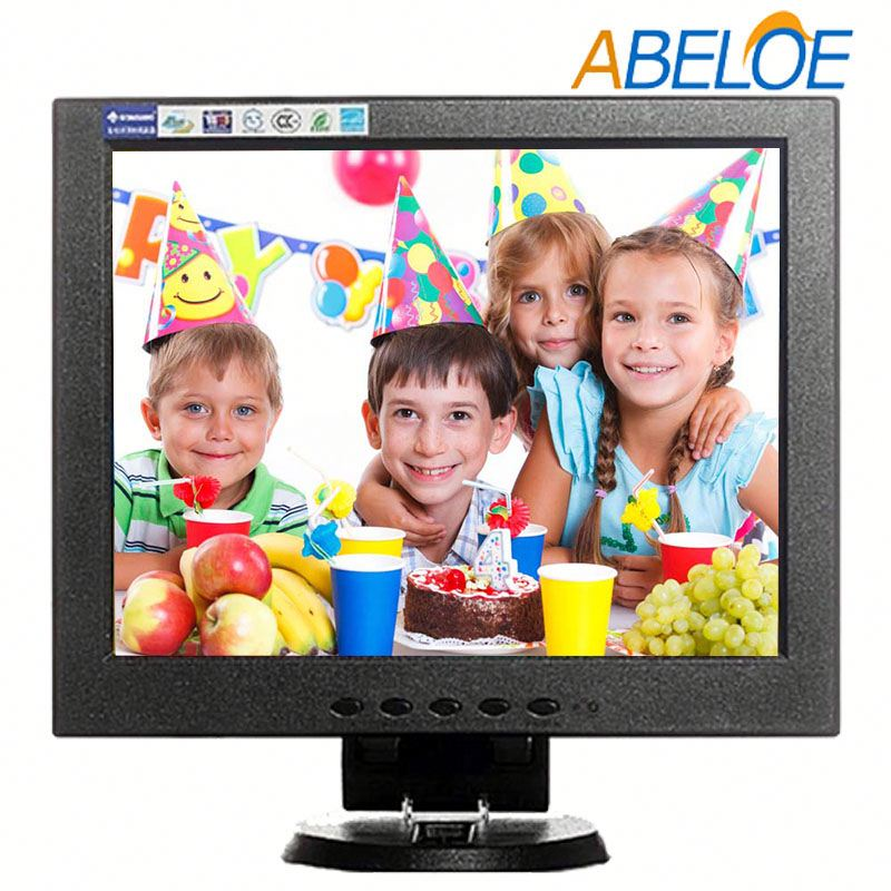 250cd/m2 brightness 10.4 inch 4:3 flameless vga tft lcd tv monitor