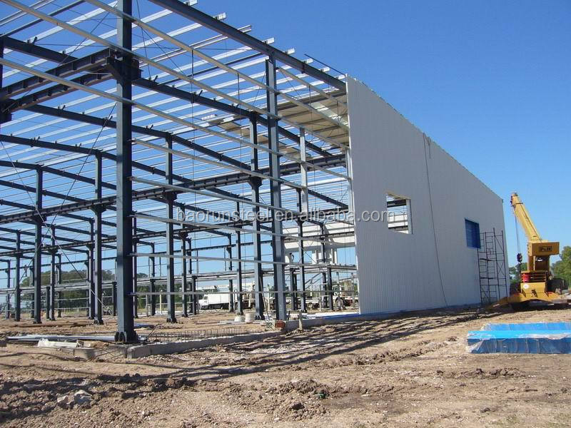Earthquake Resistant Multi-Storey Steel Structure Building workshop