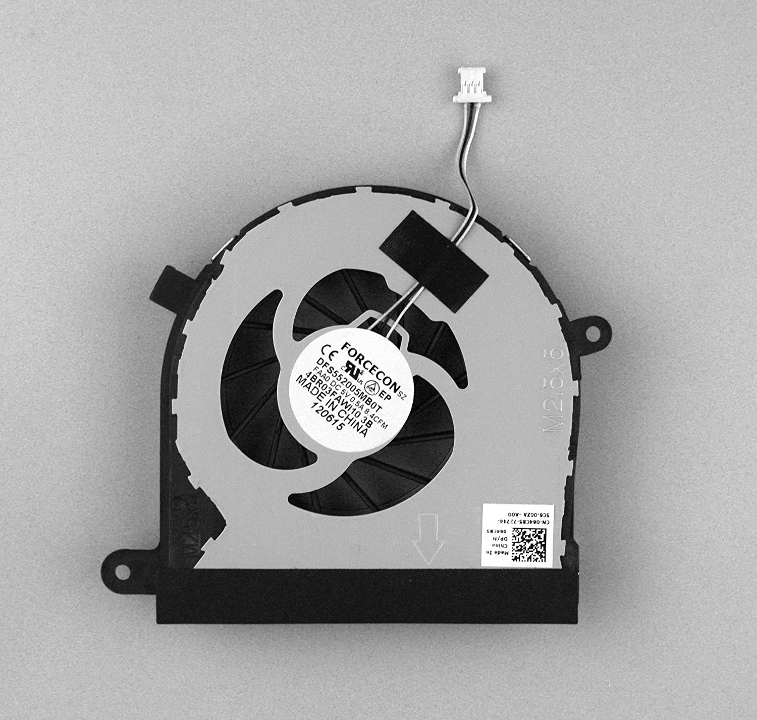 "Dell Inspiron N7110 17R 17.3"" CPU Cooling Fan Vostro 3750 Laptop P/N:064c85/64c85 DFS552005MB0T"