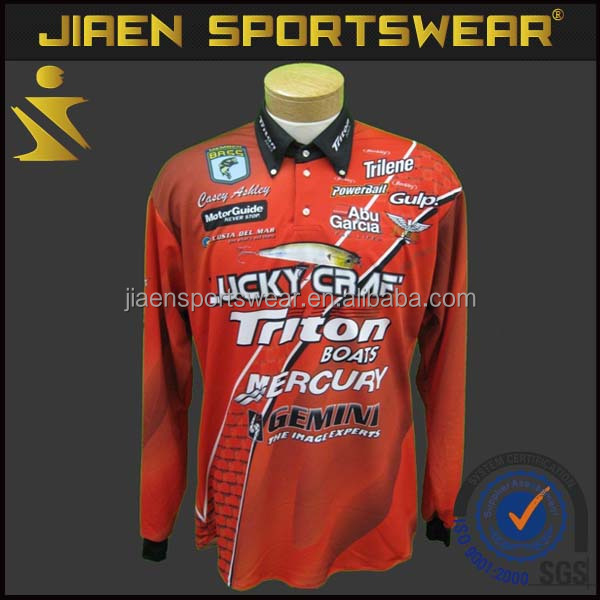 50067bd1 UV protected fishing shirts custom team fishing jersey OEM full dry  sublimation red wholesale fishing jersey, View wholesale fishing jersey,  JIAEN Product ...