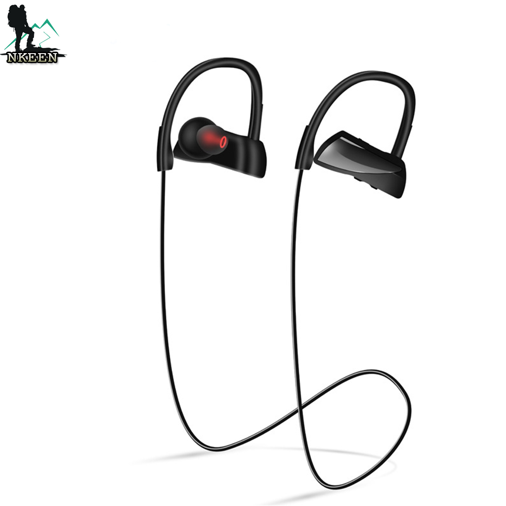 NYU12 CSR8635 Sports Headphones Stereo 4.1 Noise Cancelling Music Workout Earphone for Running