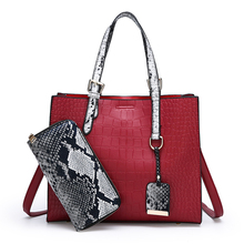 Nouvelle conception de mode durable femme sacs de luxe patch pu petit week-end en cuir de peau de serpent pu cuir dames <span class=keywords><strong>sac</strong></span> oem