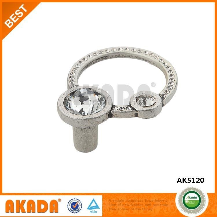 AK5120 top quality circle design drawer crystal knob