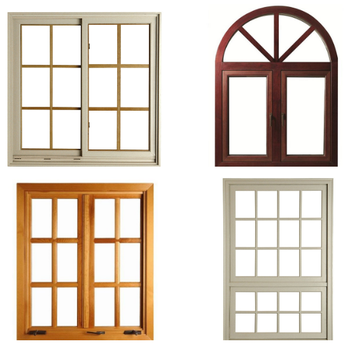 China Whole House Wood Windows Grill Design For