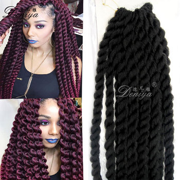 Afro Braided Claw Clip On Hair Pieces,Dreadlocks
