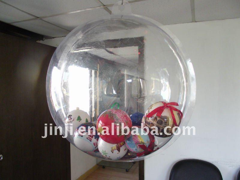 pl stico quente em grande escala bola transparente decora es de natal id do produto 491158274. Black Bedroom Furniture Sets. Home Design Ideas