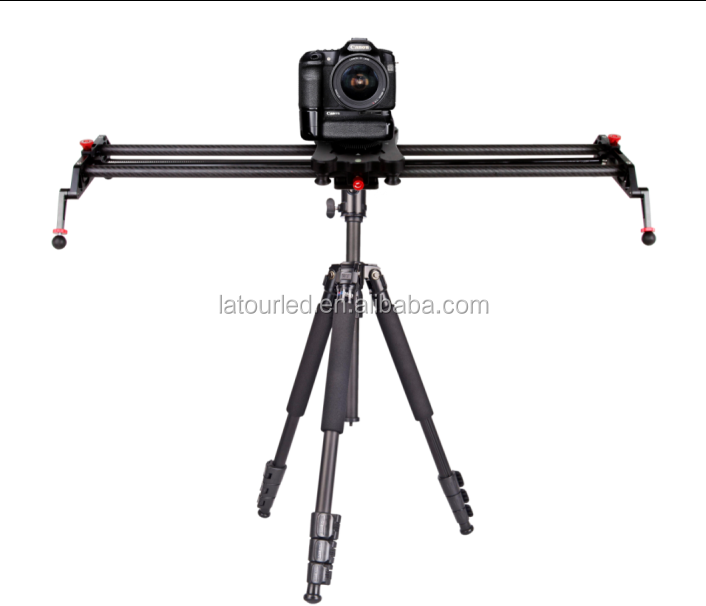 Camera Slider Track Dolly Slider Rail System with Motorized Time Lapse and Video Shot Follow Focus Shot Panoramic shooting