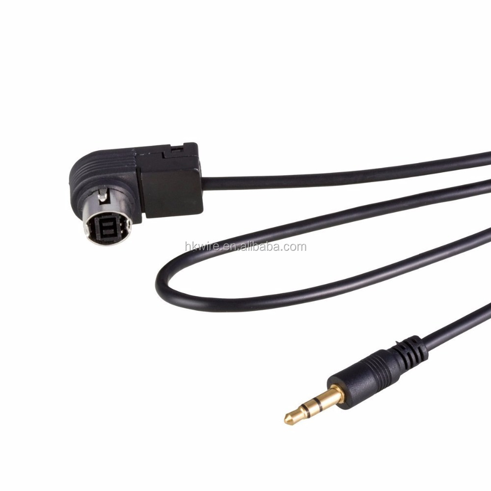 Car Audio 3.5mm Jack Aux Cable Ai-net Adapter for JVC Alpine CD KS-U58 PD100 U57 U29 for MP3