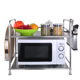 kitchen rack shelf stand microwave oven rack storage rack