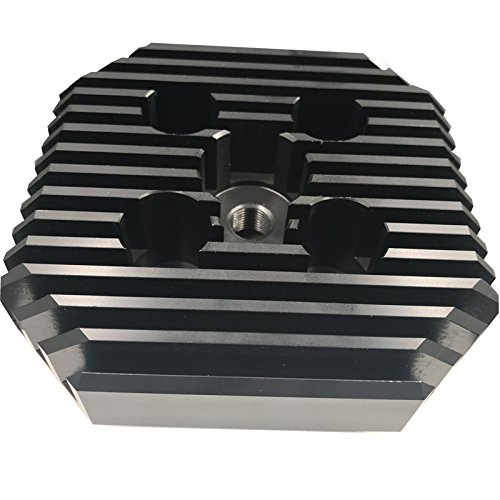 Racing Head(Square Type/Black) for 2 stroke engine kit 66cc/80cc-gas motor motorized bicycle
