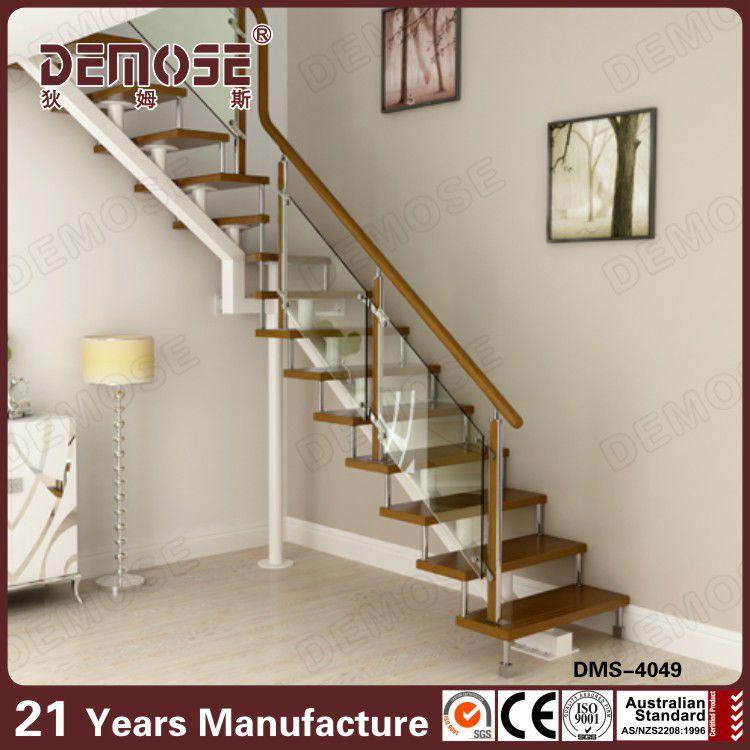 Vidrio precio barandilla para escaleras de madera de metal - Precio escaleras de madera ...