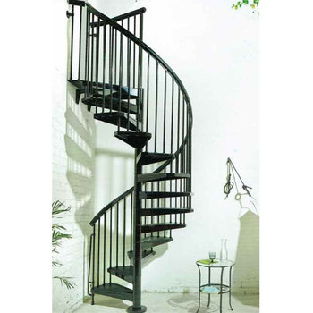 Prefabricated New Design Exterior Stainless Steel Spiral Staircase