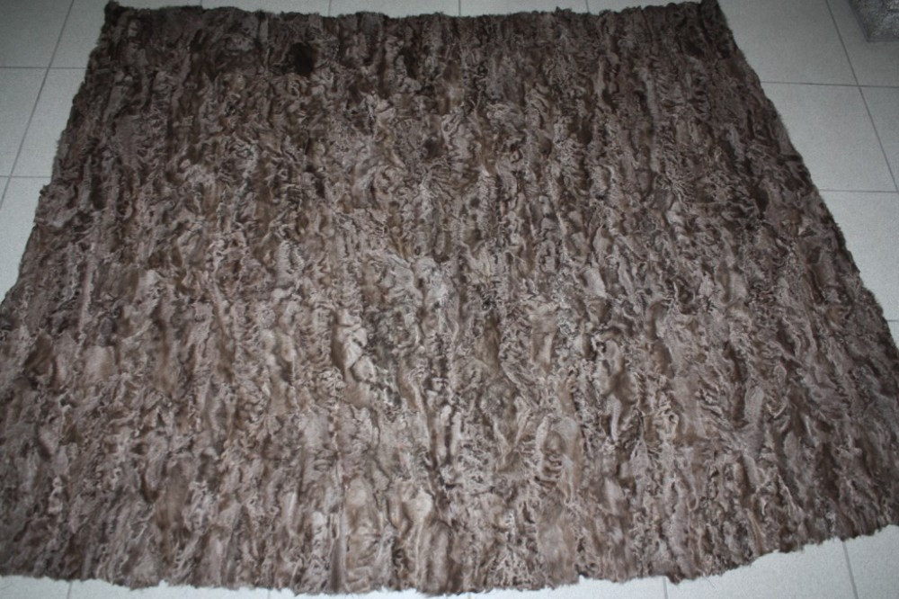 Light Brown Persian Lamb Fur Plate