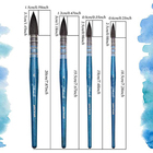 Professional Artist Brush Neptune, Brushes for Watercolor Series 4750, Quill Synthetic Squirrel