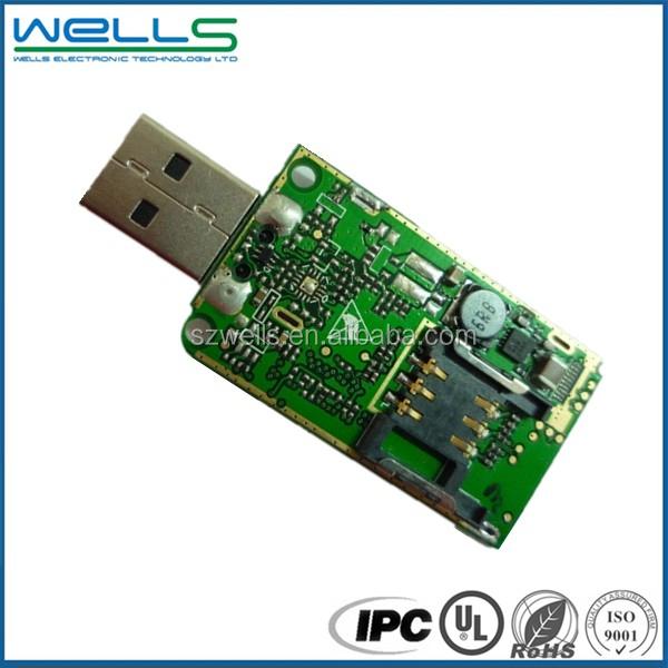 Petite Carte De Circuit Imprimé Pour Usb Flash Drive Avec