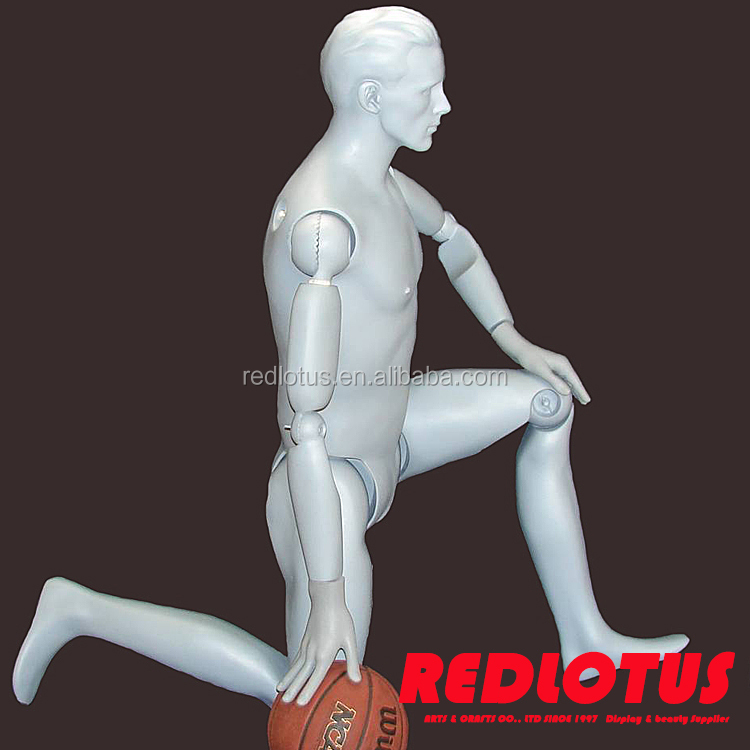 Alibaba China supplier poseable men full-body foam mannequin