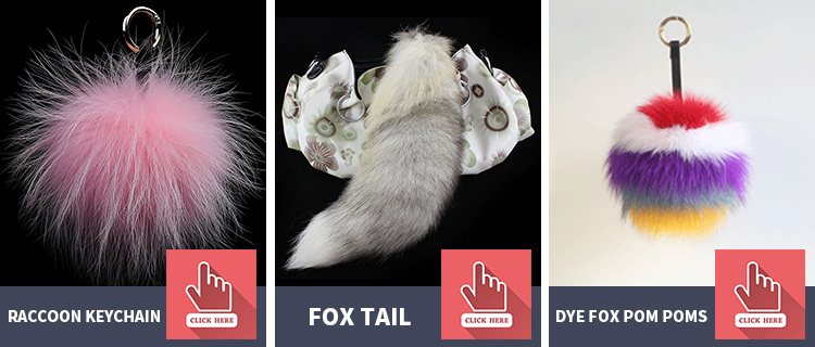 wholesale animal tail for elfin cosplay fox tails for keyrings ,bags decoration