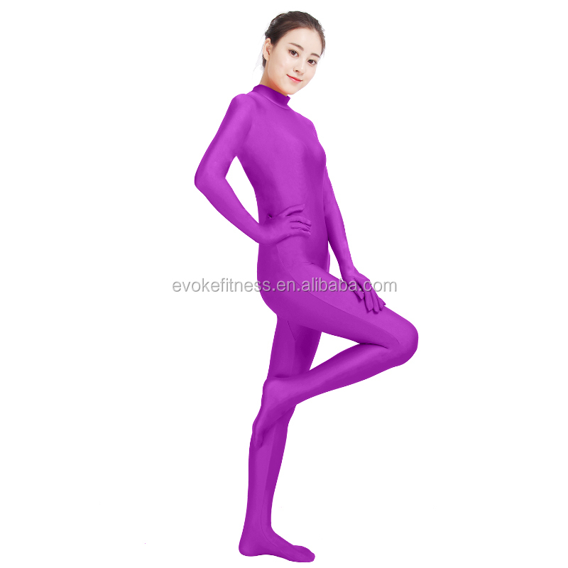 Viola Boat Neck Adult Full Body Ballet Unitard/Dance Costume/ Gymnastics Leotard/Cosplay Wear