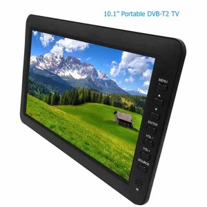 10 inch Portable dvb-t2 TV with H.265 ,Portable digital tv, DVB-T2 HEVC TV RECEIVER