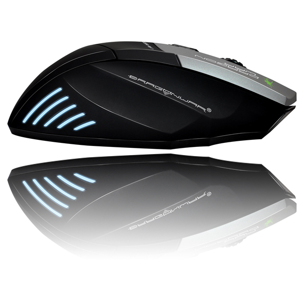 9D professional 3200DPI customized functions 6 colors led gaming mouse