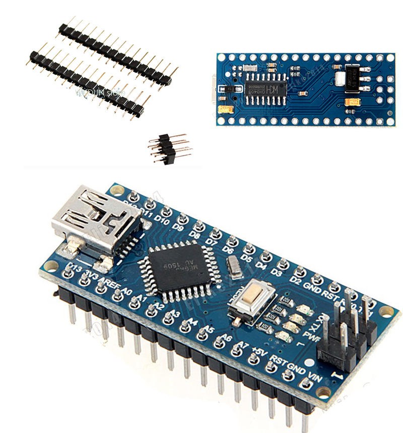 Improved Version MINI USB Nano V3.0 ATmega328P CH340G 5V 16M Micro-controller board For Arduino Nano