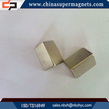 Strong permanent Customized Industrial neodymium magnet plastic