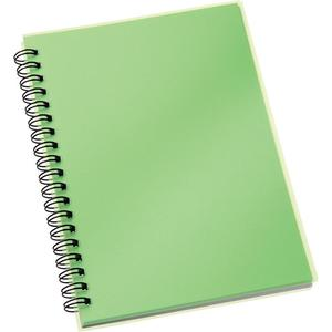Custom wholesale plastic blank cover thick spiral notebook