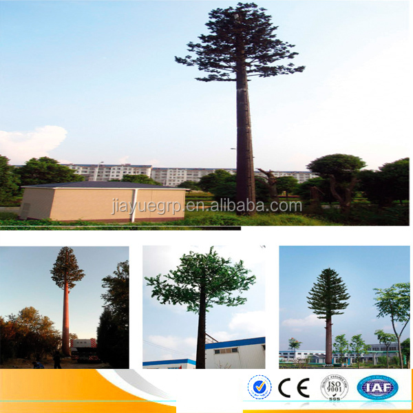 camouflaged steel pine tree commnication tower telecom commnication tower view tower 30-50 Meters