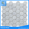 polished glazed white marble mosaic tile floor ceramic tiles