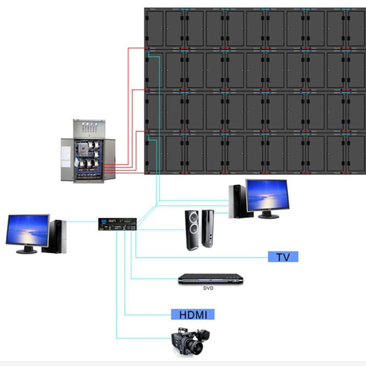 high quality p10 outdoor full color led module
