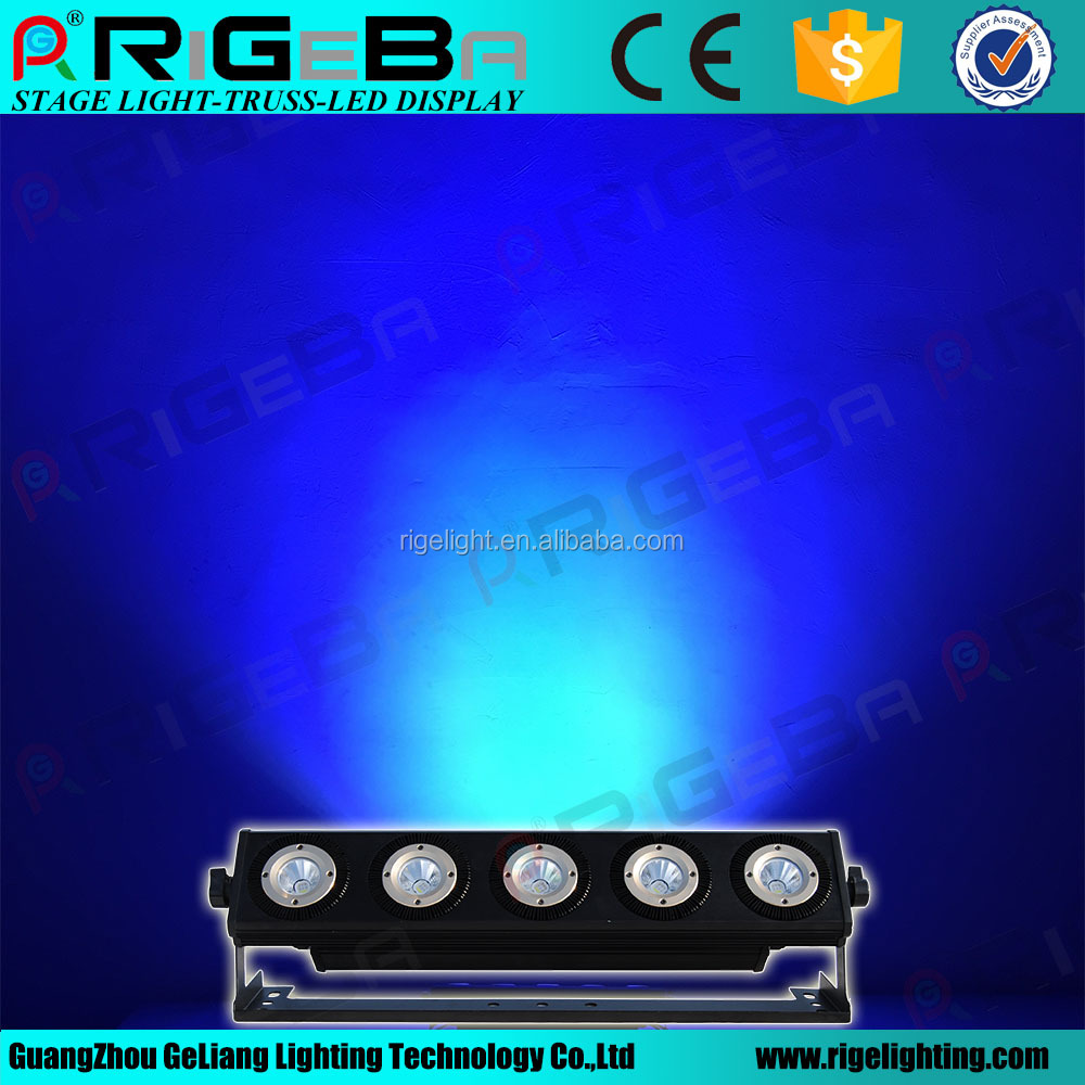 stage light art mesh 5 25w dmx512 control led wall light in led