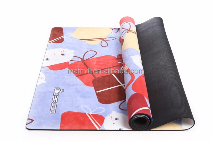 Fitness Equipment Private Label Gym Mat Wholesale Foam Rollers Cheap Exercise Mat Sublimation Nature Kids Yoga Mats