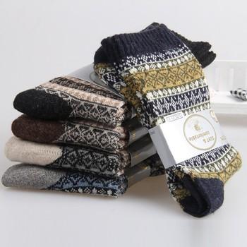 5241fa61d9888 New Winter Thermal Cashmere Socks Men Warm Rabbit Wool Socks Men's Thicken  Socks