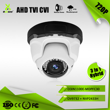 720P 1MP varifocal IR Range 30m Hybrid 4 in 1 AHD TVI CVI HD diy old security cameras product