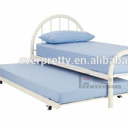 Single daybeds full size for India, home furniture bedroom pull out bed, metal daybeds with mattress manufacture