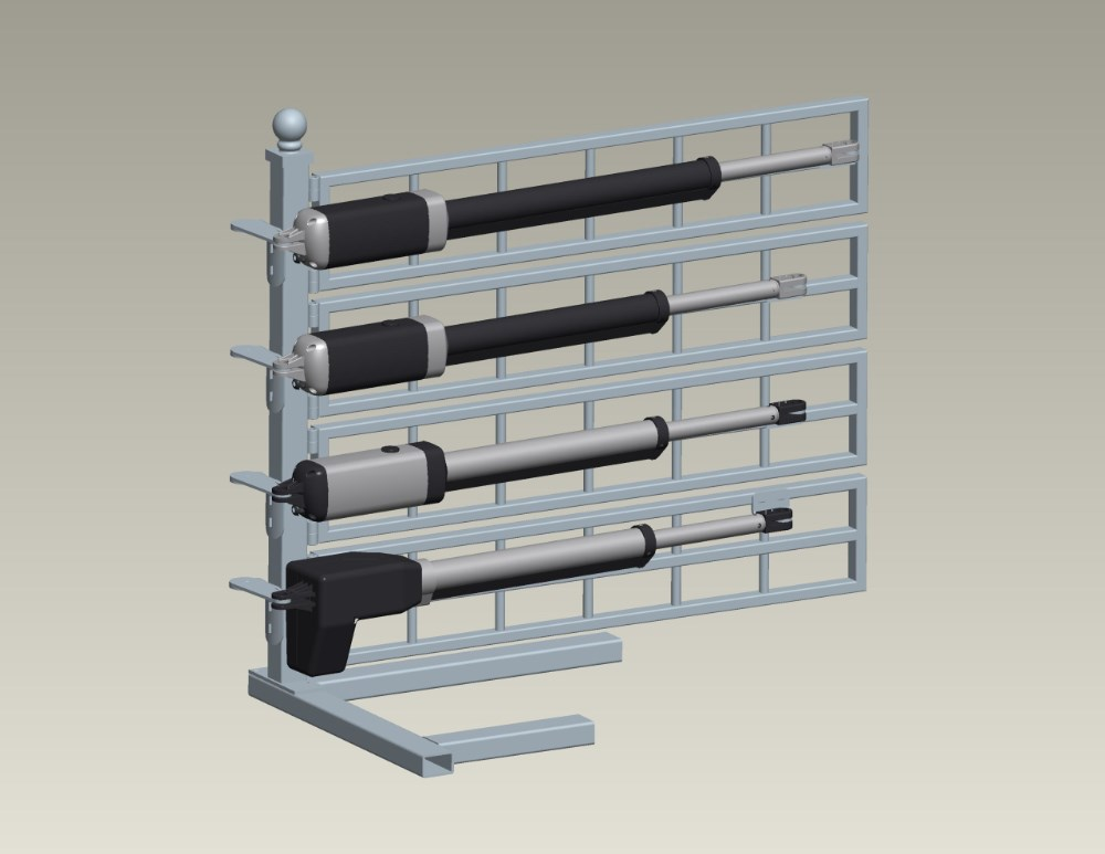 High quality v metal swing gate openers with remote
