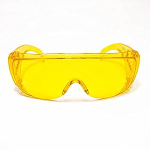 1aada3fe10 Get Quotations · JORESTECH Eyewear – Safety Protective Glasses Prescription  Frame Compatible (Yellow Amber)