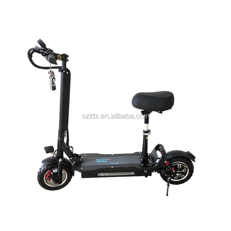 48V 26AH On Road/Off Road Tire Light Electric Scooter 2000W/1200W Powerful for Adult