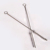 18/8 stainless steel metal drinking straw cleaning brush for straw